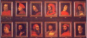 Bilder der Familie Medici