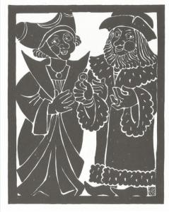 Ferdinand Kieslinger, Aventinus-Moritat: Das 10. Stuck - Exil, Heirat
