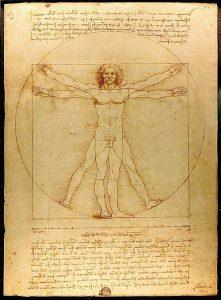 Leonardo da Vinci: Der vitruvianischer Mensch