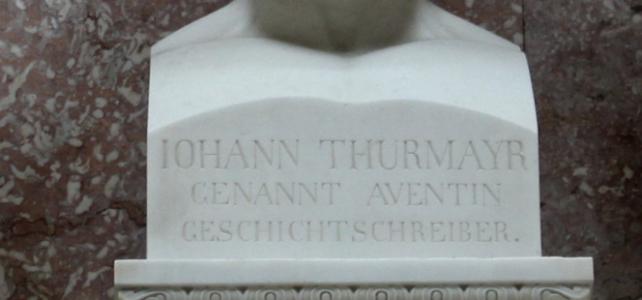 Aventinus in der Reihe berühmter Bayern