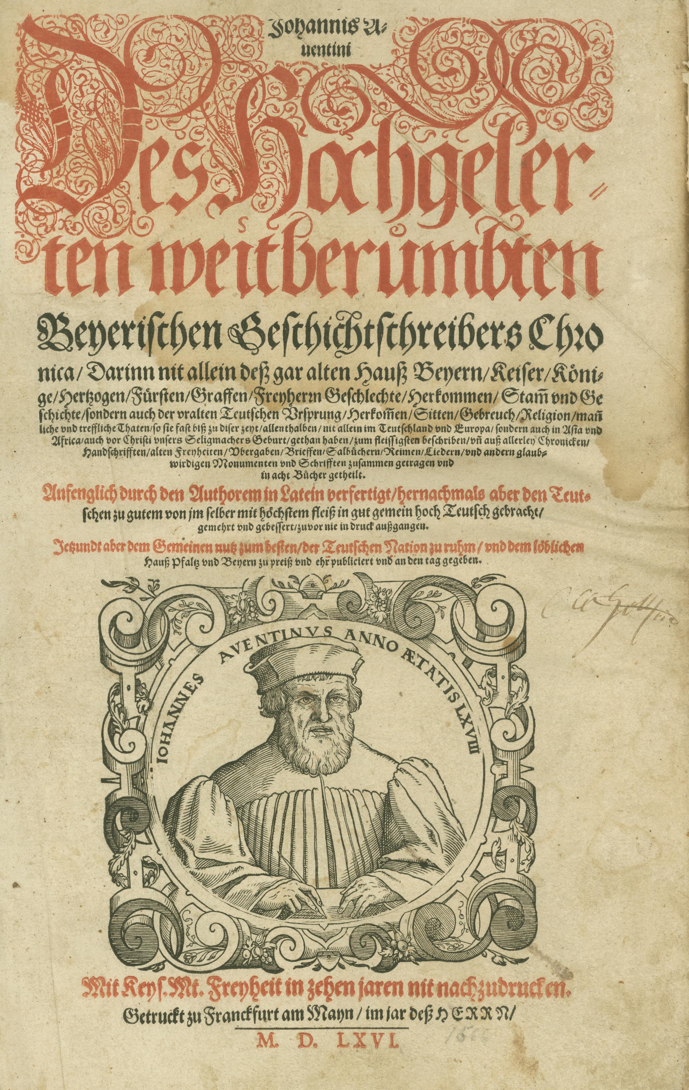 Die Bayerische Chronik