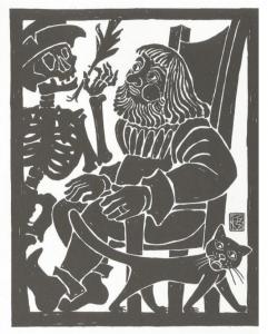 Ferdinand Kieslinger, Aventinus-Moritat: Das 11. Stuck - Tod