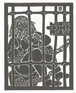 Ferdinand Kieslinger, Aventinus-Moritat: Das 9. Stuck - Eingesperrt