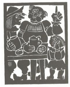 Ferdinand Kieslinger, Aventinus-Moritat: Das 8. Stuck - Kirchenkritiker