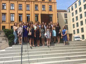 In München vor der Preisverleihung